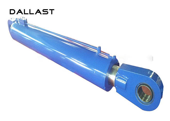 Hydraulic Hoist Heavy Duty Hydraulic Cylinder Ra 0.2-0.4 Surface Roughness